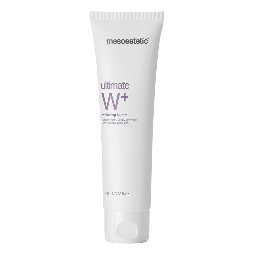 mesoestetic ultimate w whitening cleansing foam