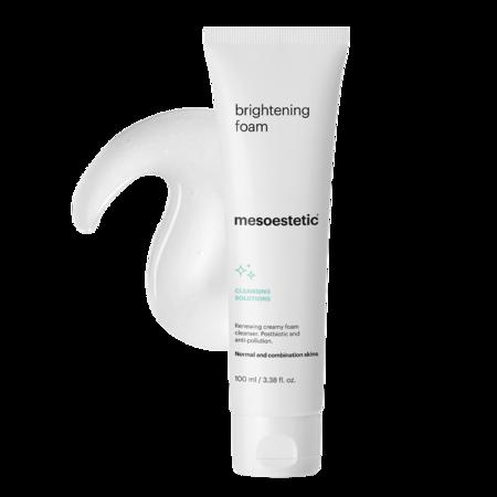 mesoestetic brightening foam