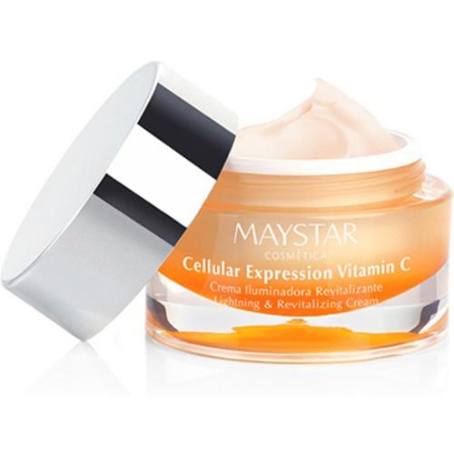 maystar, cellular, expression, vitamin c, glød, livløs hud