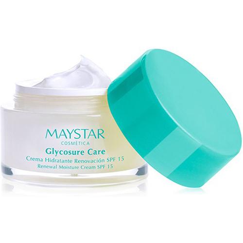 maystar, glycosure care, daycream, krem, spf15, hudfornyelse, ujevn hud