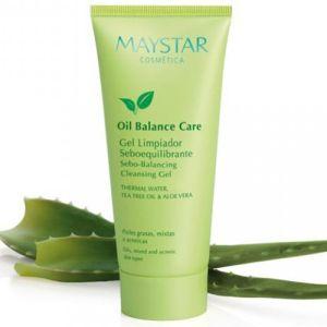 maystar, oil balance, cleansing gel, rens, uren hud