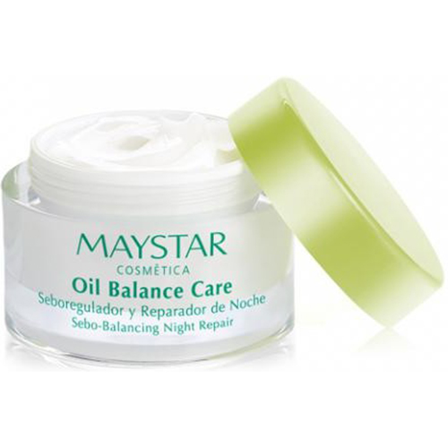 Maystar, oil balance, nightcream , akne hud