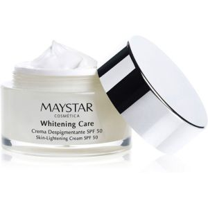 maystar, whitening care, cream, pigmenteringer, spf50