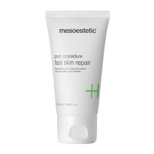 mesoestetic post procedure fast skin repair cream